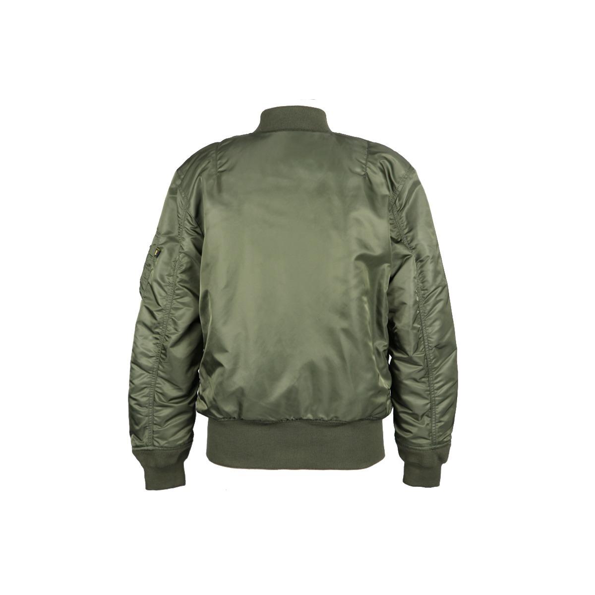 fb5c0153a53 MA-1 Nylon Flight Jacket - Sage Green for Women - MyPilotStore.com