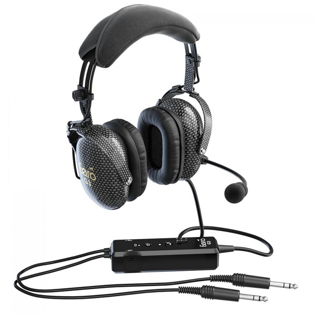 faro g3 anr pilot headset with bluetooth mypilotstore com