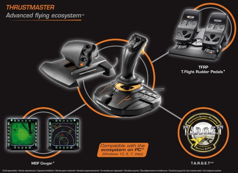 Thrustmaster T 16000M FCS HOTAS
