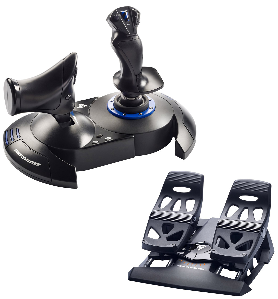 Thrustmaster T Flight HOTAS 4 & Flight Rudders Bundle