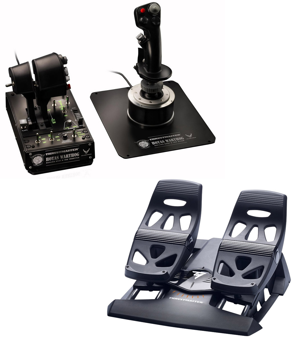 Thrustmaster HOTAS Warthog & Flight Rudders Bundle