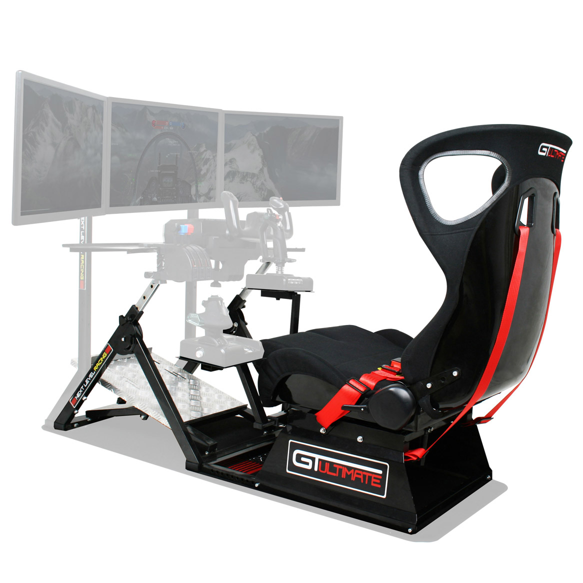 next level flight simulator cockpit chair bundle mypilotstore com