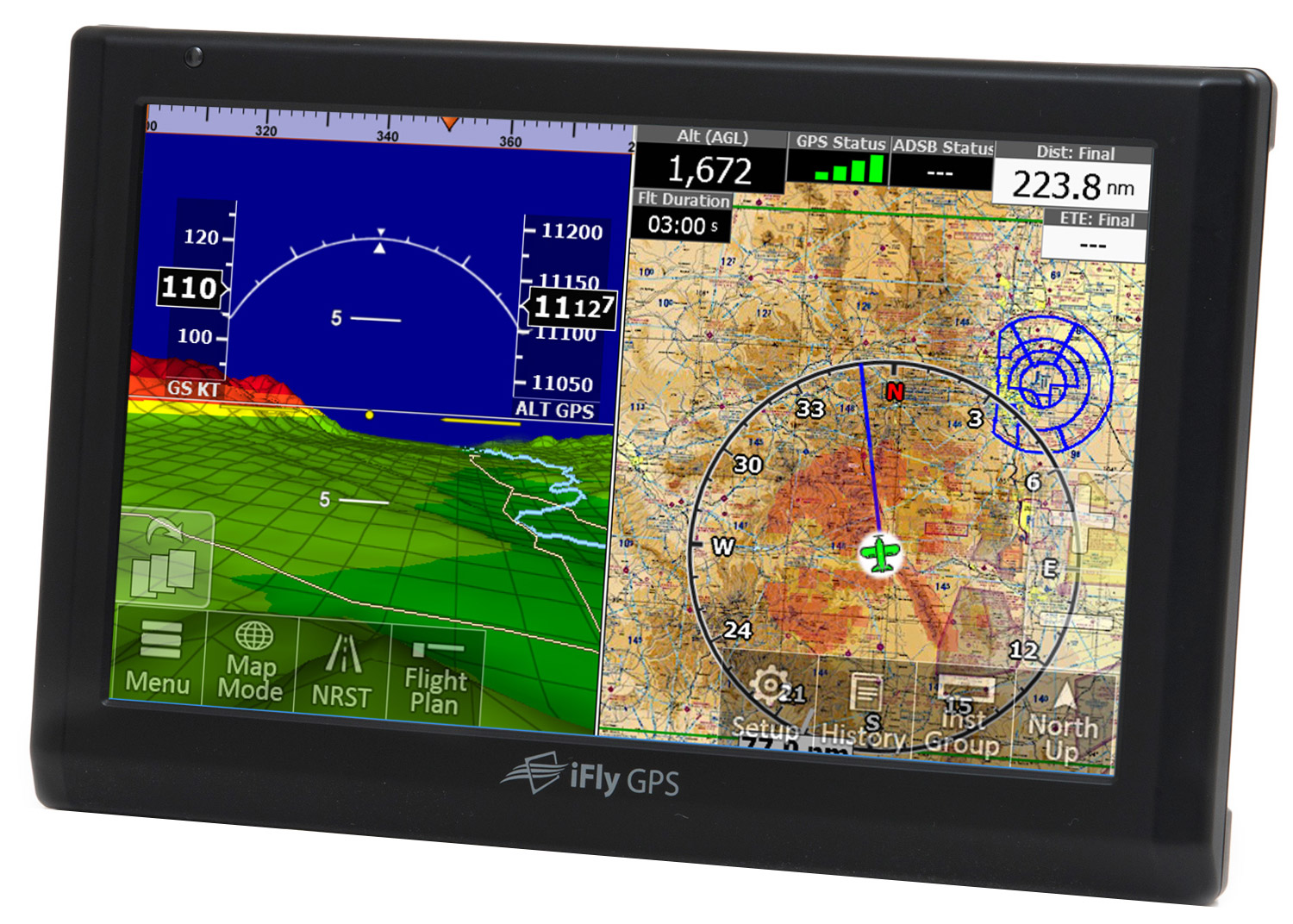 Ifly 740b Moving Map Gps For Pilots Mypilotstore Com