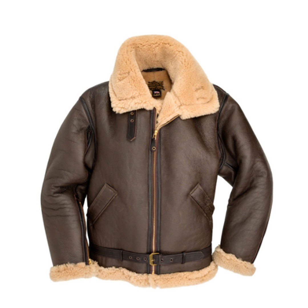 8e7a8294 R.A.F. Sheepskin Bomber Jacket. 0 Customer Reviews. Leather Pilot Jackets.  Tap to expand