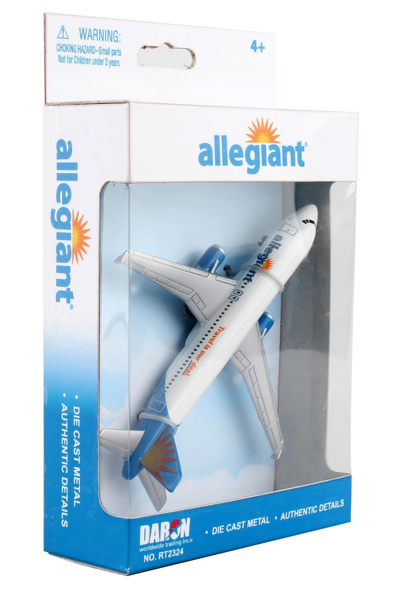 Allegiant Airlines Airbus A320 Die Cast Model