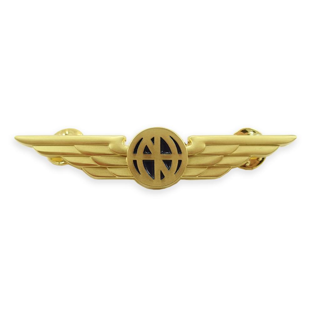 Universal Pilot Wings Lapel Pin - Gold