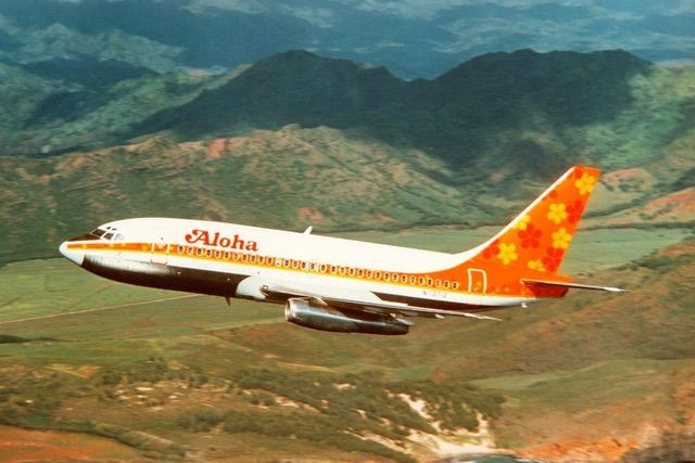 Boeing 737 Aloha Airlines Life Jacket