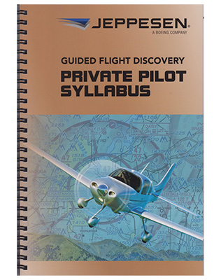 f2fa0870038 Jeppesen Private Pilot Training Syllabus - MyPilotStore.com