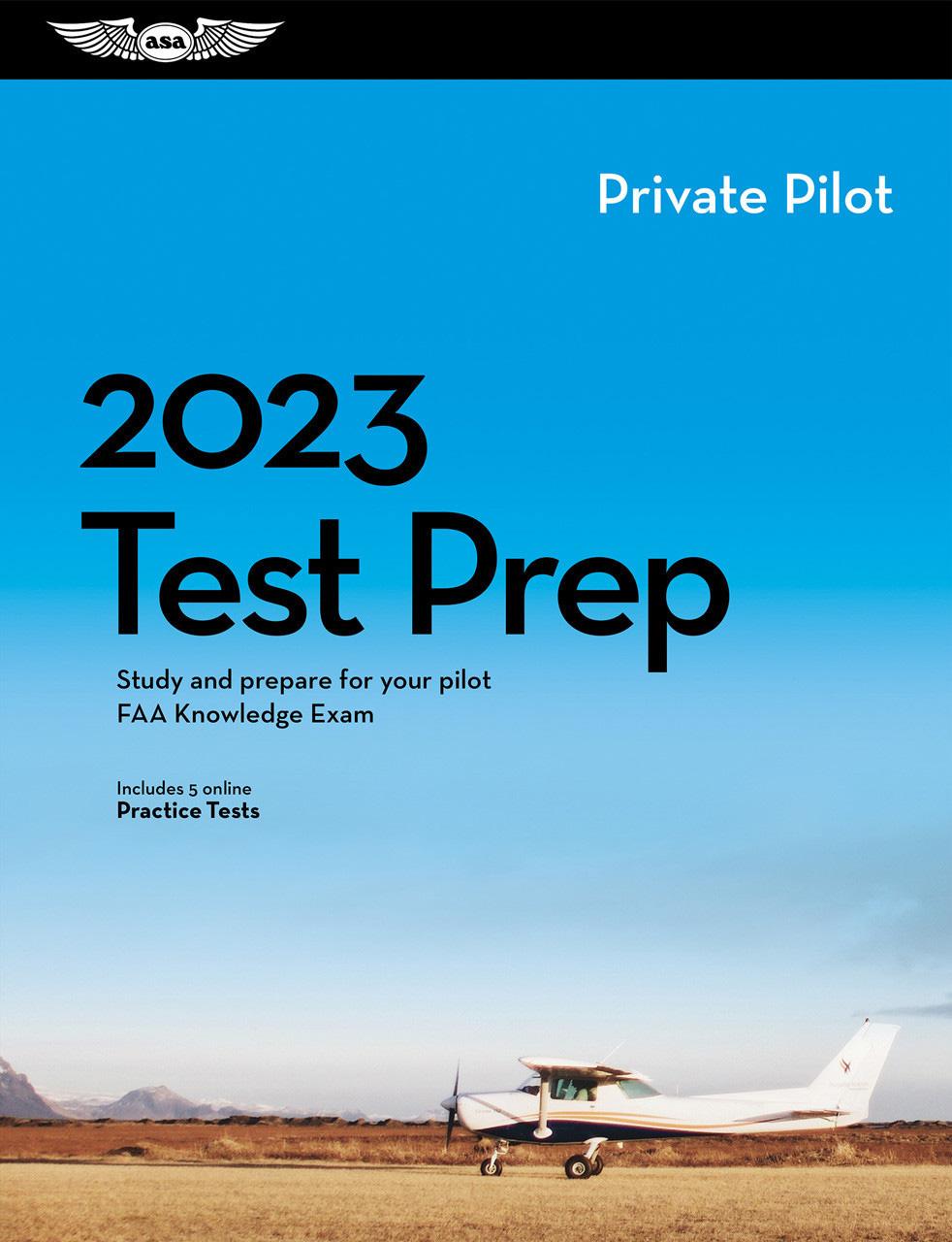 Asa Private Pilot Test Prep Book Mypilotstorecom