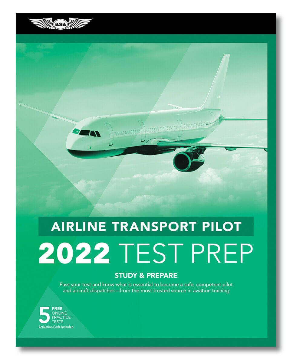 ASA Airline Transport Pilot Test Prep Book
