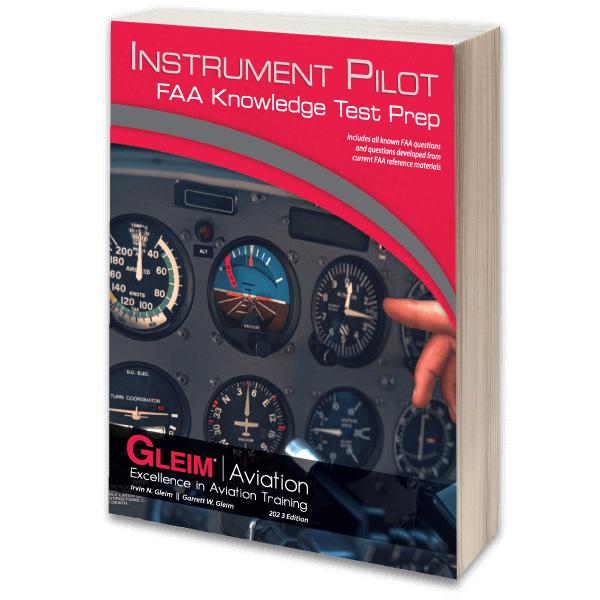 Gleim Instrument Pilot FAA Knowledge Test Guide
