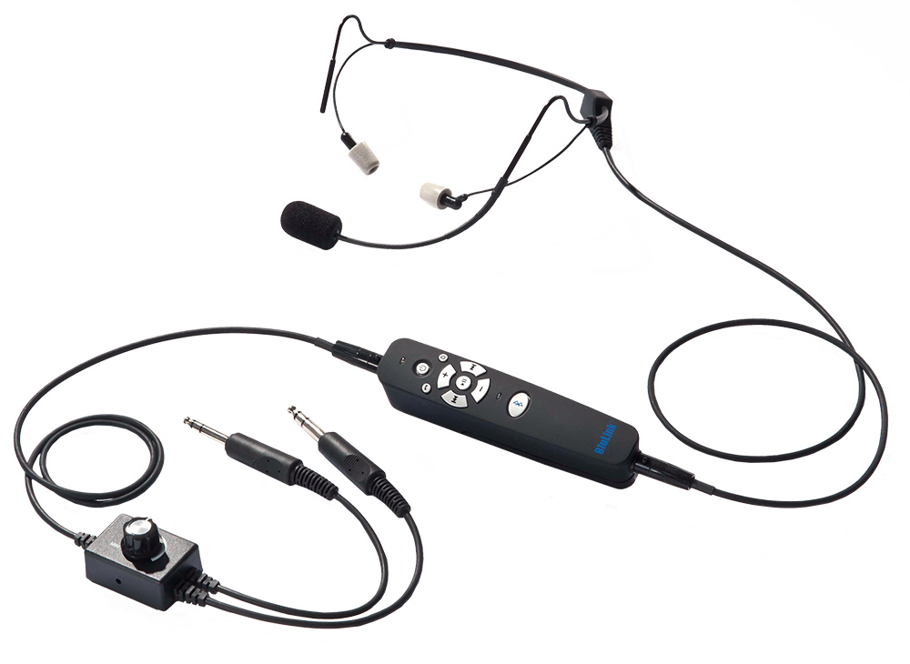 8a694091d7f Clarity Aloft Link Stereo Aviation Headset with Bluetooth ...