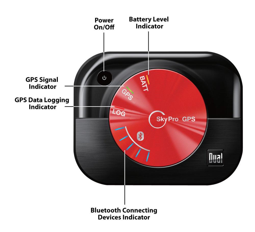 Dual XGPS160 SkyPro Bluetooth GPS Receiver