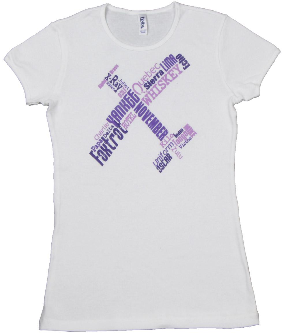 6d34af4e4ac5 Ladies Phonetic Pilot T-Shirt - MyPilotStore.com