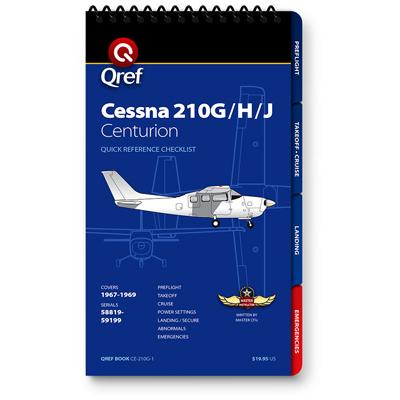 Cessna 210G/H/J Checklist Qref Book