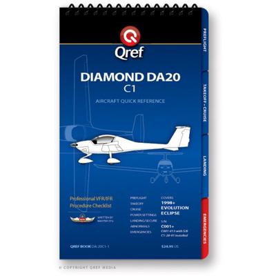Diamond DA20 C1 Checklist Qref Book