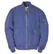 Cockpit USA Sun Faded Cotton MA-1 Jacket (Blue)