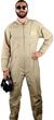 Flight Suit Cotton/Poly - Khaki