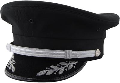 Airline Captain's Cap - Silver