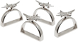 Airplane Napkin Rings Set of 4