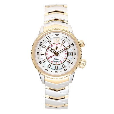 Abingdon Elise Ladies Zulu Time Watch - Tahitian Two-Tone