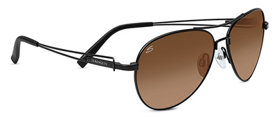 Serengeti Brando Satin Black Drivers Gradient Sunglasses
