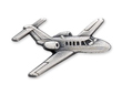 Citation Jet / CJ1 Airplane Pin - Silver