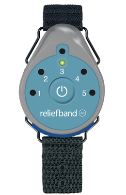 ReliefBand with Replaceable Battery for Motion Sickness Protection