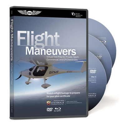 Virtual Test Prep - Flight Maneuvers DVD & Blu-Ray
