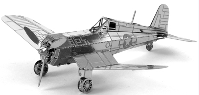 F4U Corsair 3D Laser Cut Model