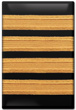 4 Bar Captain Epaulet Fridge Magnet