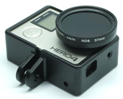 nFlight GoPro 37mm Propeller Filter and Frame