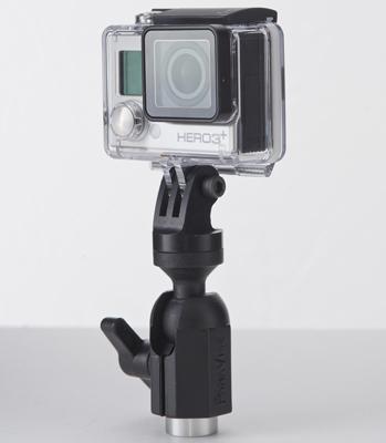nFlight Exterior Billet Mount for GoPro and Garmin Virb Cameras