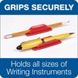 Pen-Pal Rubber Pen Holder - 3 Pack