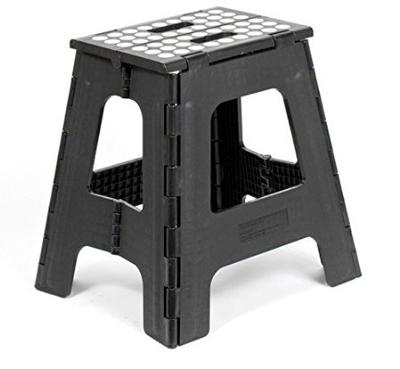 countertop curling iron rack