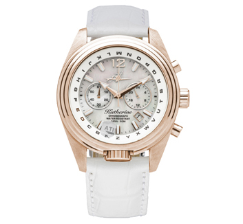 Abingdon Katherine Aviator Watch - Rose Sun