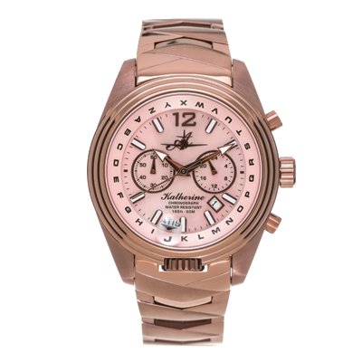 Abingdon Katherine Aviator Watch - Chocolate