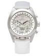 Abingdon Katherine Aviator Watch - Pearl White