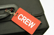 Crew Luggage Tag with Contact Sleeve