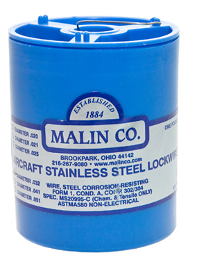 Stainless Steel Aerospace Safety Wire 1lb can - 0.032 Inch
