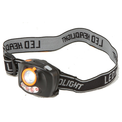 Flight Outfitters White/Red Headlamp