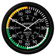 Airspeed Wall Clock - 10 Inch