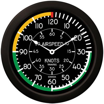 Airspeed Wall Clock - 14 Inch