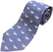 Biplane Silk Tie - Blue