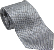 Boeing 737 Silk Tie - Silvergrey