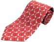 Cessna Silk Tie - Red