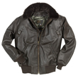 Cockpit B-15 Calfskin Leather Flight Jacket