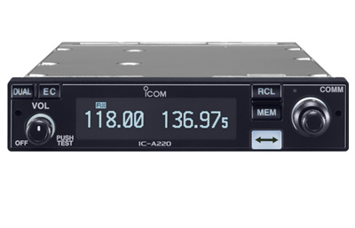 Icom IC-A220 Panel Mount VHF Air Band Transceiver