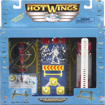 Hot Wings Rescue Playset