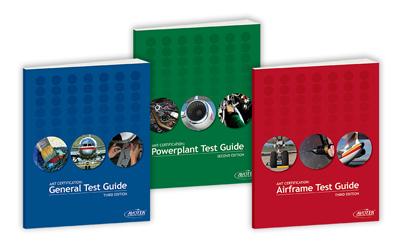 Avotek Test Guide Bundle - General, Airframe, Powerplant